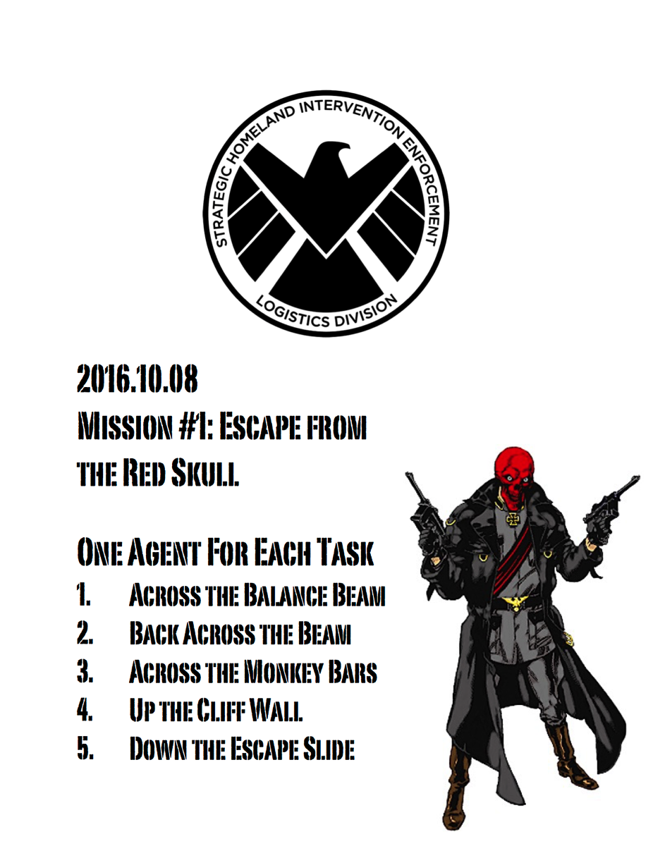 Escape from the Red Skull