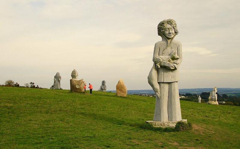 O Vale dos Santos, na Bretanha