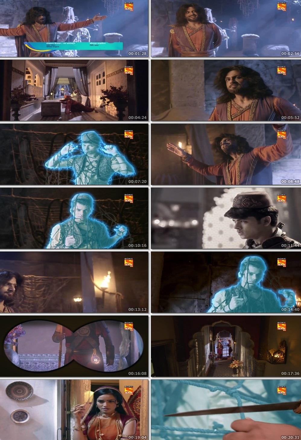 Screenshots Of Hindi Show Aladdin – Naam Toh Suna Hoga 2019 Episode 290 300MB 720P HD