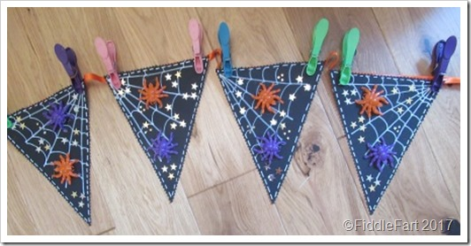 Dimensional Halloween Bunting 1