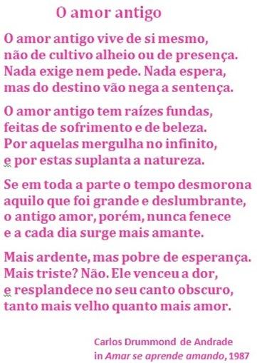 amor antigo_C Drummond de Andrade