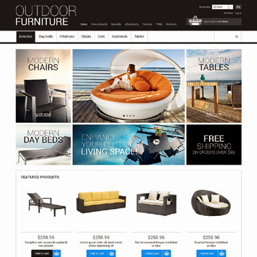 Outdoor Furniture ZenCart #50602