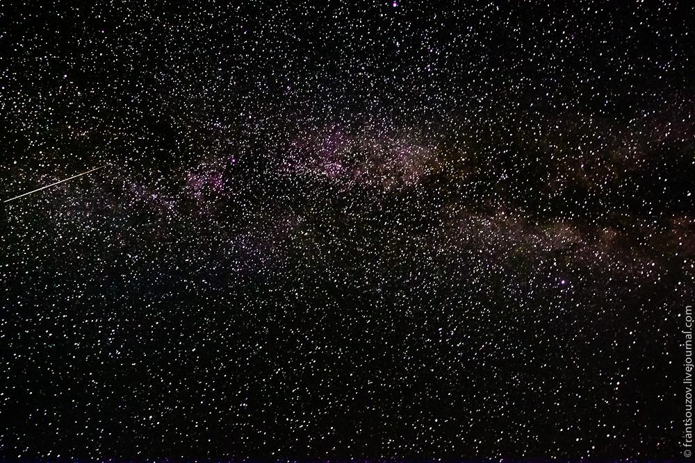 Звездное небо Киргизии