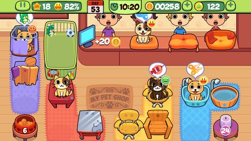 My Virtual Pet Shop - Cute Animal Care Game 1.10 screenshots 5