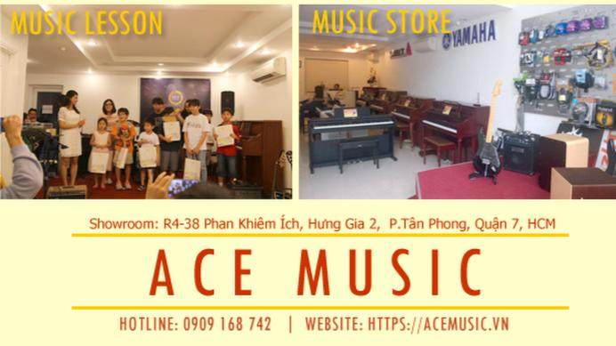 Kết quả hình ảnh cho ACE Music Quận 7