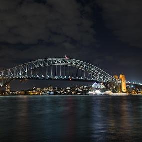 Sydney Harbour Bridge by Scott Thiel - Buildings & Architecture Bridges & Suspended Structures ( harbour, australia, long exposure, bridge, sydney,  )