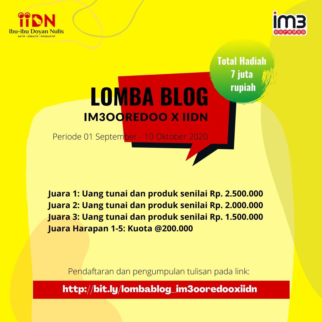 Lomba-Blog-IM3-X-IIDN