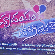 Naa Hrudayam Oogisalaade Movie Opeing