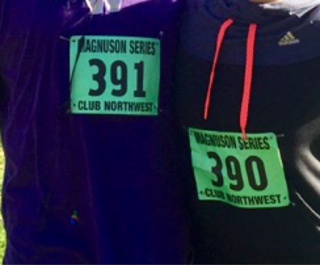 Northwest club, 5k bibs, running, father daughter, bonding