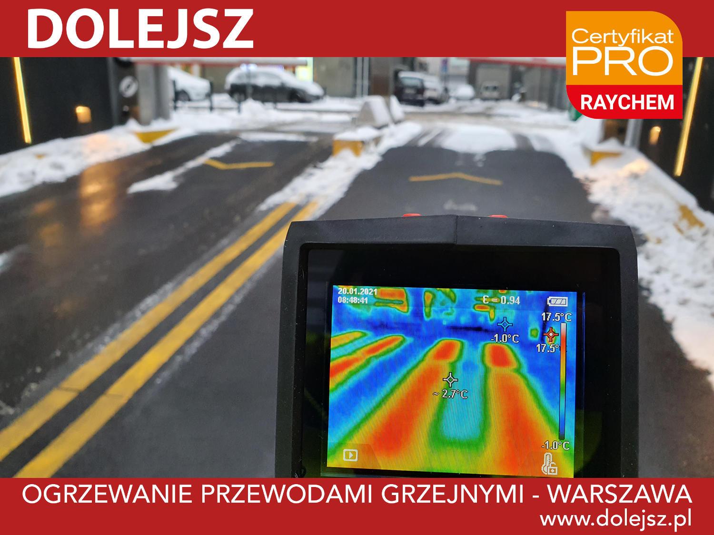 Instalacje przeciwoblodzeniowe montaż Warszawa