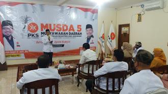 Terpilih sebagai Ketua DPD PKS Karawang, Budiwanto Ungkapkan Ini....