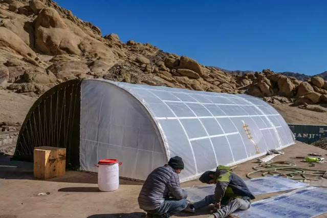 mobile solar-powered tent for Indian Army