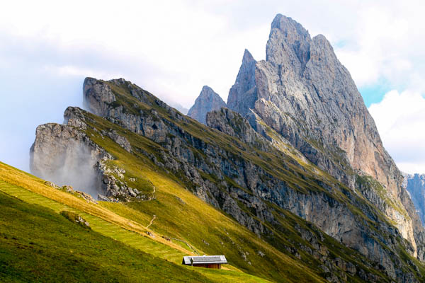 Paul 39 s travel pics easy hikes in the dolomites part 2 for Best view of dolomites