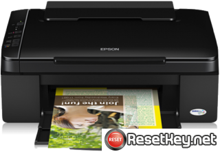 Resetting Epson SX110 printer Waste Ink Pads Counter