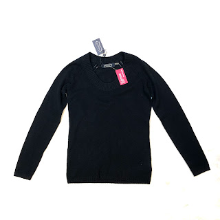 Magaschoni NEW Black Cashmere Sweater