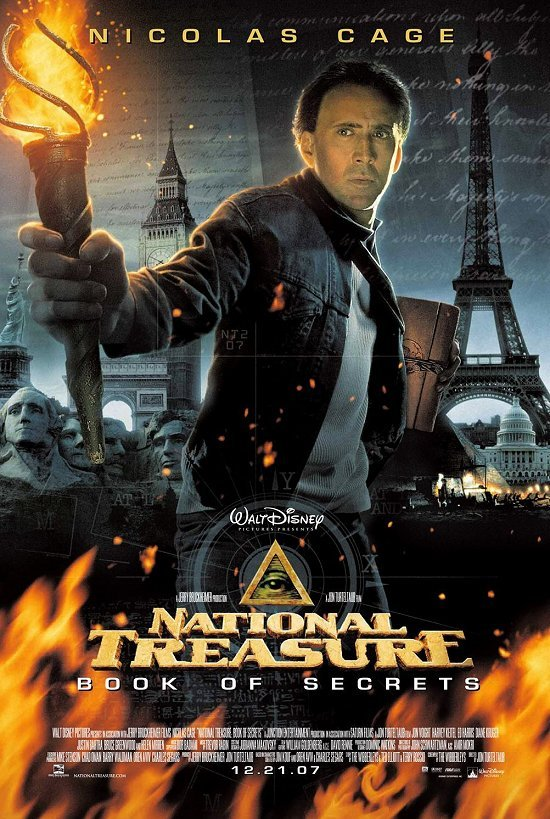Download National Treasure Book of Secrets (2007)