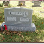 Everett Winfield Gleaves Son of John Lawrence