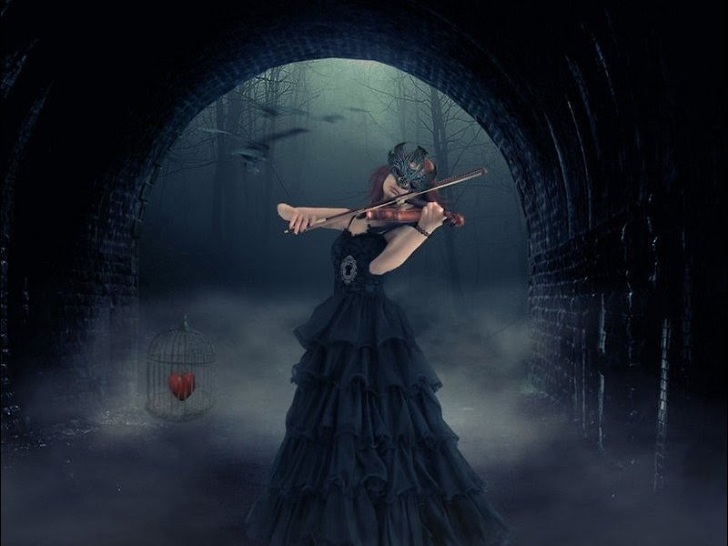 Song Of Heart And Old Violin, Gothic