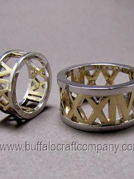 Roman Numeral Wedding Band 9 Elegant Custom Women us engagement