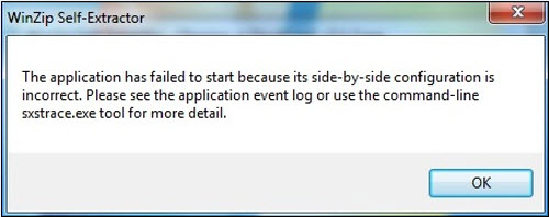 Side be side configuration error