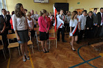 Rozpoczęcie roku w Gimnazjum - 03.09.2012 r.