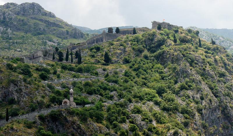Stadtmauer Kotor