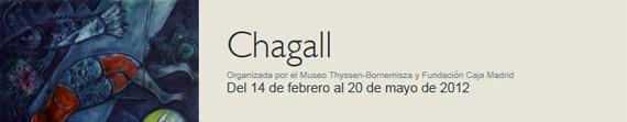 Exposición de Marc Chagall en el Museo Thyssen-Bornemisza