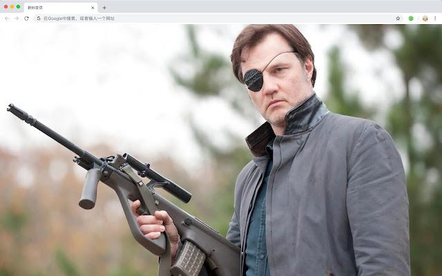 Walking Dead HD New Tab TV Dramas Theme