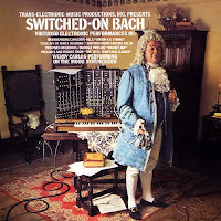 La legendaria portada de Switched-On Bach, el álbum de Walter Carlos de 1968