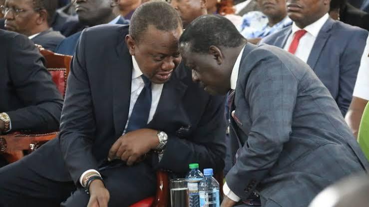 Uhuru Raila wrangle begin