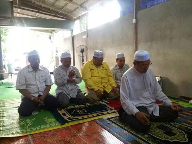 Calon Pas #prkpengkalankubor Solat Hajat Diimamkan MB Kelantan