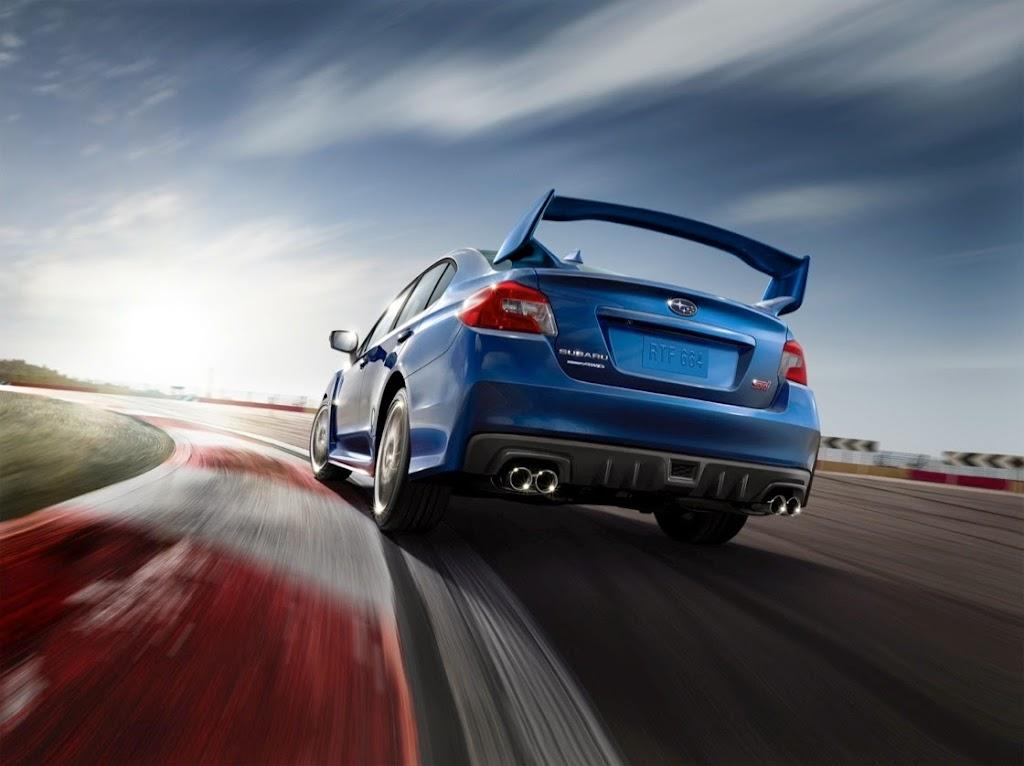 2015 Subaru WRX STI Launch Edition rear_1