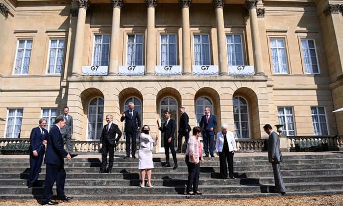 Anggota G7 | Foto The Guardian
