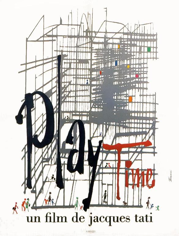 El ciclo 'Arquitectura y cine: ciudades imaginadas' proyecta este martes la película 'Play Time'