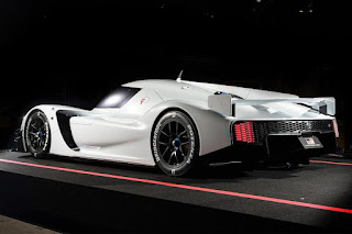 Sneak peek at Toyota's 986-horsepower GR SuperSport LMP1 supercar concept
