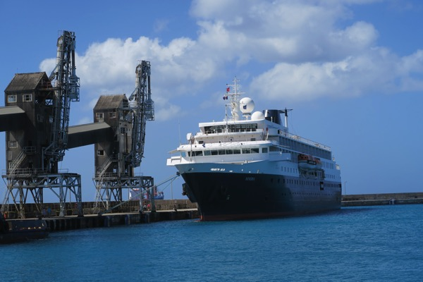 Minerva Moored Barbados