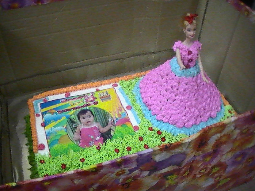 gambar kek barbie cake ideas and designs