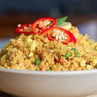 Scrambled Tofu Fried Rice [Vegan, Gluten-Free]