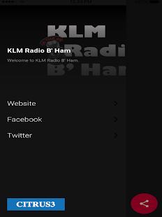 KLM Radio B' Ham - náhled