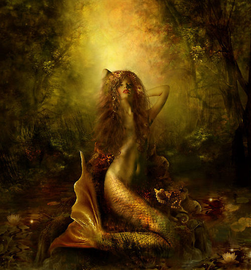 Mermaid By Lilla Marton, Mermaids