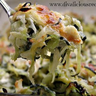 Zucchini Noodle, Feta & Thyme Bake