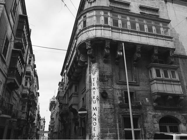 Valletta, ancient city, Malta, teatru Manoel