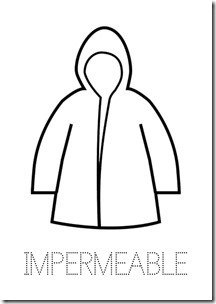 IMPERMEABLE ropa dibujos colorear pintaryjugar  (23)