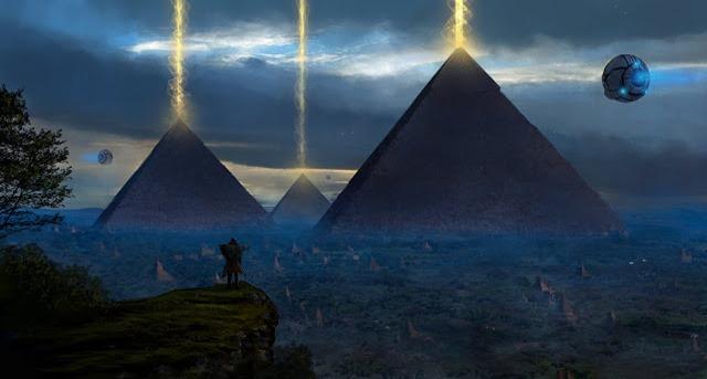 Papiro egípcio antigo revela extraterrestres que visitaram o Egito no passado 02