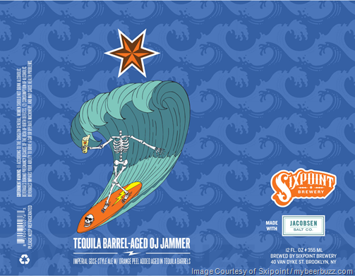 Sixpoint Adding NEW Tequila Barrel-Aged OJ Jammer