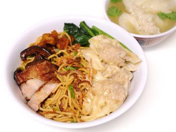Wonton Noodles / Kon Lo Mein