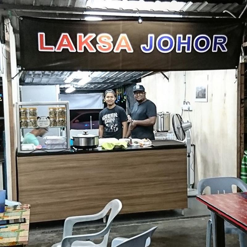 Laksa Johor , MMA Santai Corner di Bandar Baru Nilai !