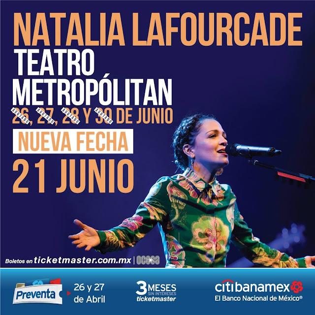 NATALIA LAFOURCADE METROPÓLITAN 2018