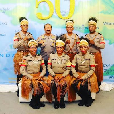 Jasa Sewa Tari Papua, Sewa Penari Papua Dok. Halal BI Halal Siswa SIP Angkatan 50 Tahun 2021