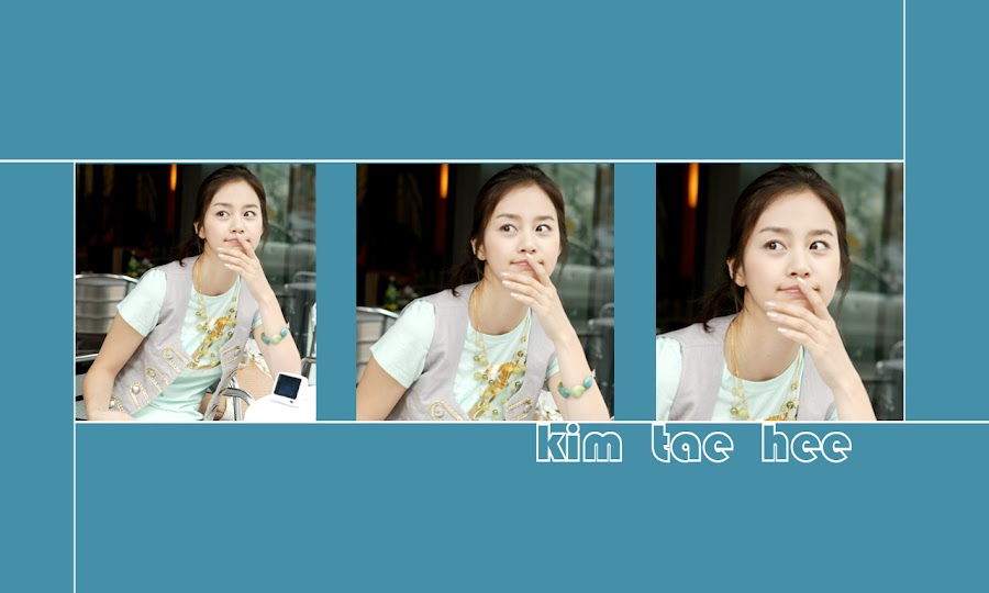 Kim Tae-hee - South Korean actress and model
